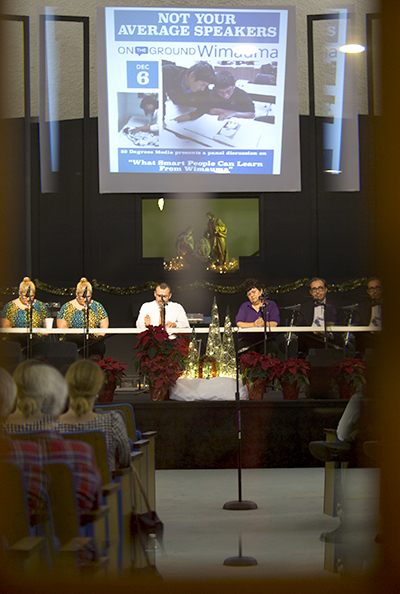 Wholesome Community Ministries served as the venue for the latest Not Your Average Speakers event.