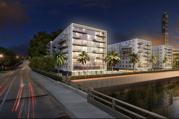 Apartment rendering on the Tampa Tribune site.