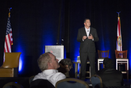 James Geurts speaks at the Tampa Bay Business Journal Innovation Summit.