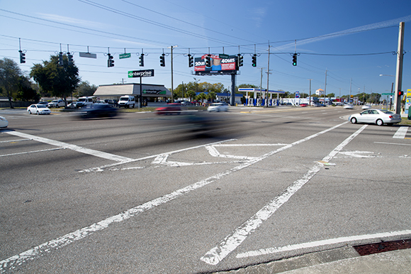 Hillsborough Ave. at Town 'N' Country Blvd.