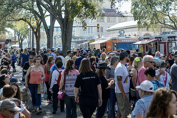 Over 25,000 locals and tourists attended Localtopia to discover and support local businesses in the St. Pete area.