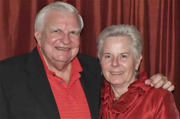 Miles and Barbara Capron are working to improve the Southshore.