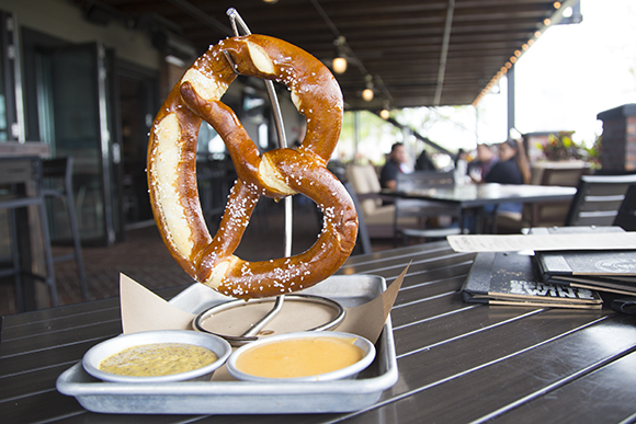 World of Beer's German Pretzel.