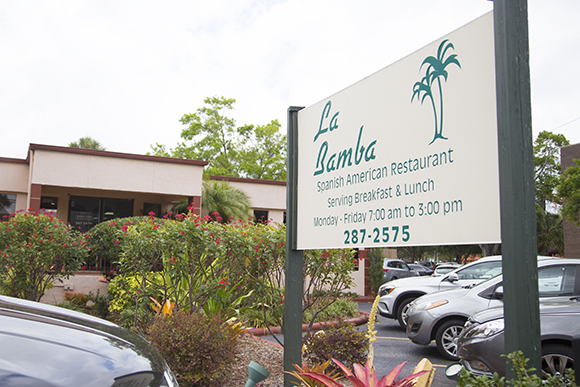 La Bamba Spanish Restaurant offers breakfast and lunch options in the Westshore neighborhood.