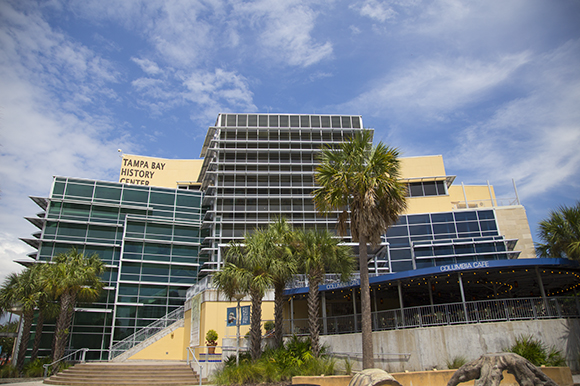 Tampa Bay History Center along the Riverwalk in the Channelside District.