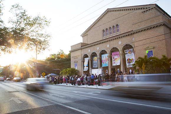 The Sunscreen Film Festival was held at The Palladium Theater in St. Pete.