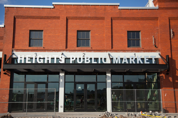 Opening day at Armature Works Heights Public Market in Tampa Heights in early 2018.