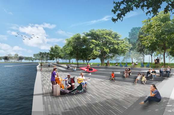 Rendering of the new pier in St. Pete.