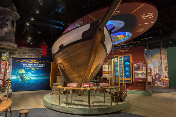 Treasure Seekers: Conquistadors, Pirates & Shipwrecks exhibit