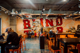 Blind Tiger Mural at their new location in South Tampa.
