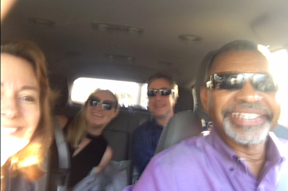 I was able to carpool with colleagues to a workshop in St. Pete.