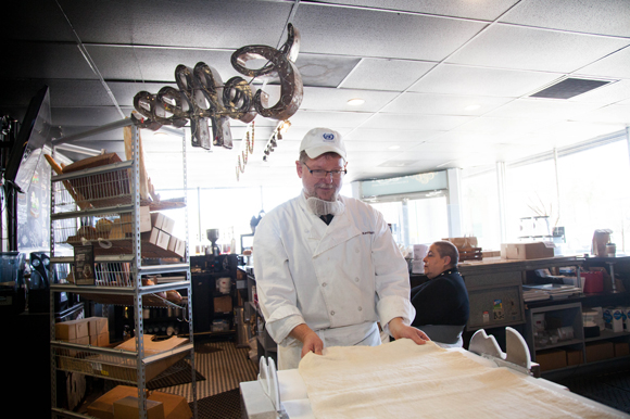 Kevin Boxx makes 400 croissants daily at the French patisserie with American and Latin infusions.