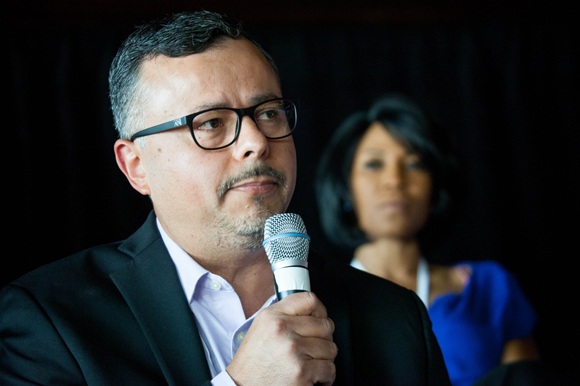 Rolando Torres, COO of Abacode Cybersecurity, a panelist for a breakout session on Thursday.
