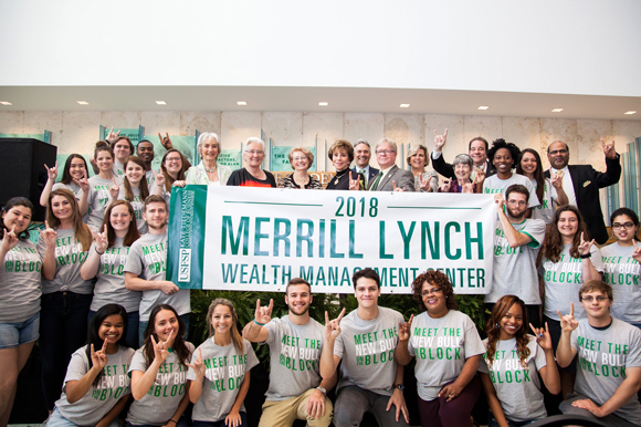Unveiling event of the Merrill Lynch Wealth Management Center at USFSP.