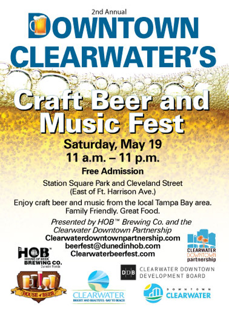 Last year, the city hosted its first Craft Beer and Music Fest, drawing  around 7,000 craft beer drinkers downtown, Polglaze says. 565807442b