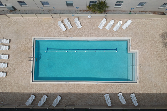 West River Flats offers amenities, including a pool, and free shuttle to University of Tampa.