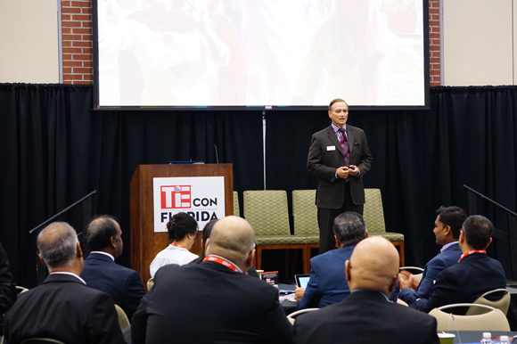 Arnie Bellini speaks at TieCON