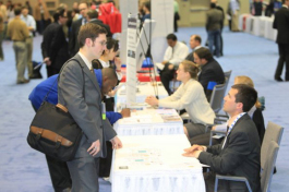 Career fairs help jobseekers connect with employers face to face.