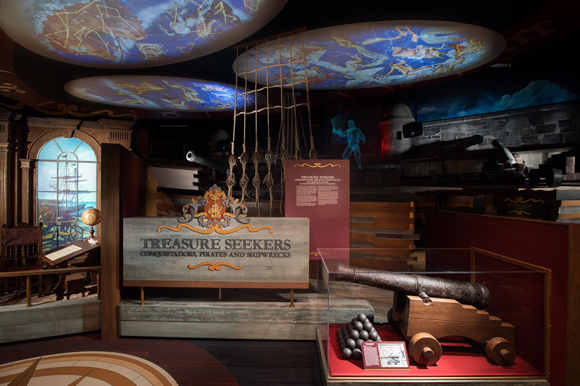 "The new ""Treasure Seekers"" gallery is a permanent addition to the Tampa Bay History Center."
