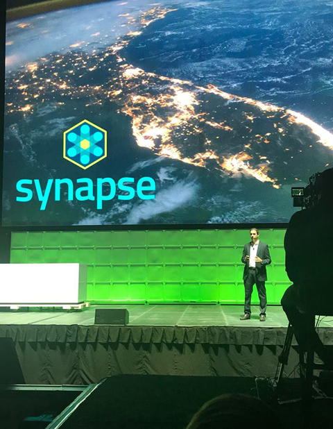 Brian Kornfeld, a Synapse Co-Founder, speaks at Innovation Summit 2018.