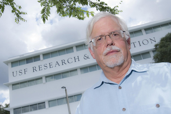 Thomas Unnasch chairs USF's Department of Global Health.