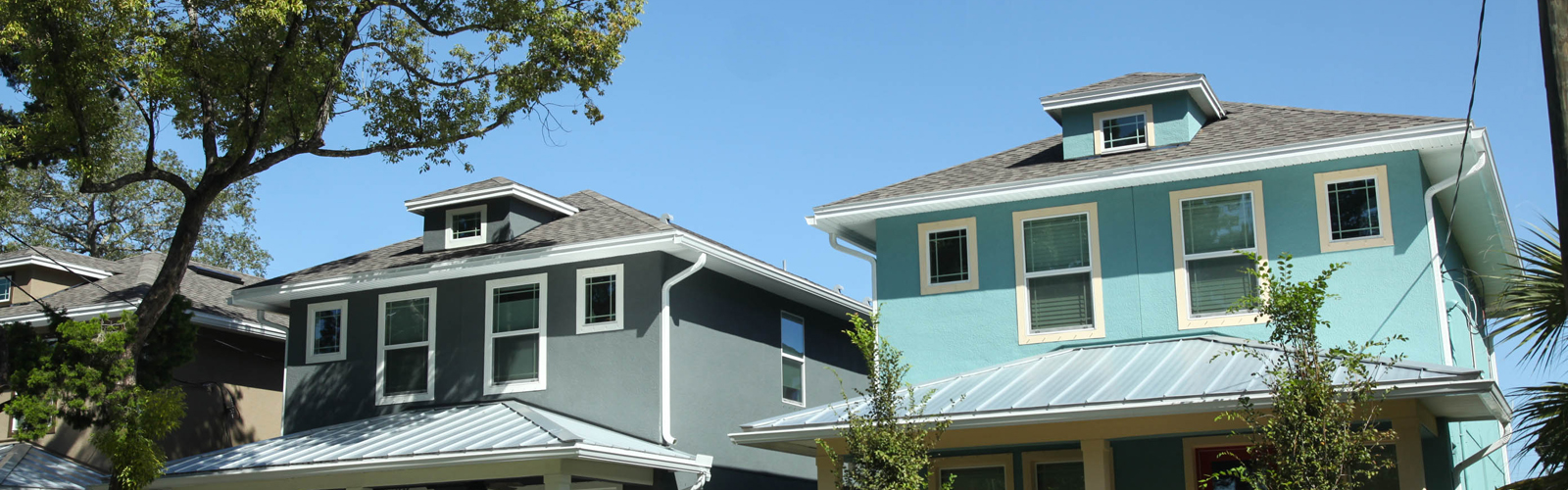 New housing going up in West Tampa across from Macfarlane Park. <span class='image-credits'>Amber Sigman</span>
