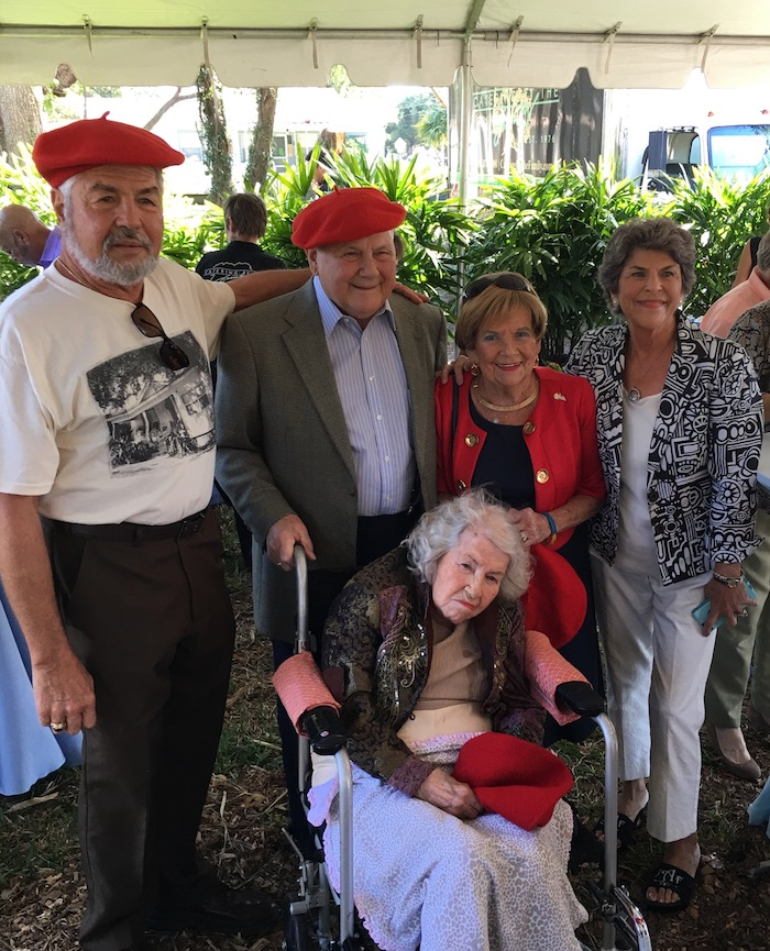 Martinez family and friends gather at 2017 groundbreaking for Domain homes in West Tampa.