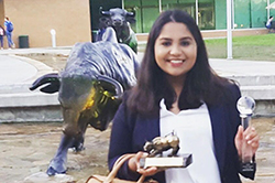 Nandini Agarwall at USF.