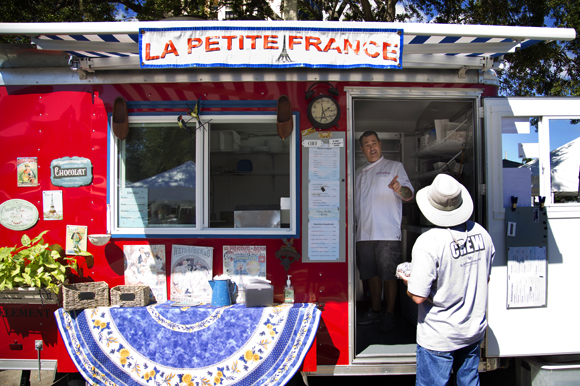 La Petite France food truck at the Saturday Morning Market in St Pete.