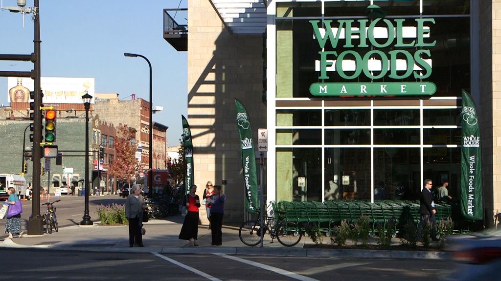 Whole Foods in downtown Minneapolis