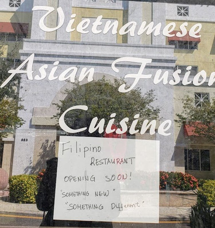 A new Filipino restaurant coming to downtown Clearwater.