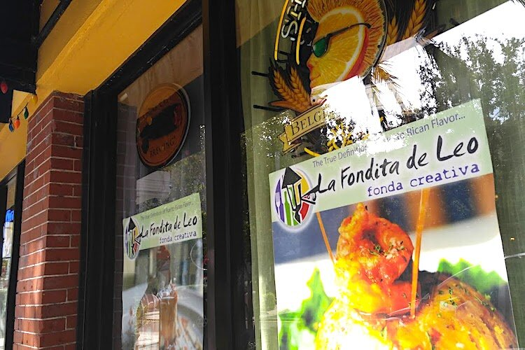 La Fondita de Leo is among the international flavors found at downtown Clearwater restaurants.