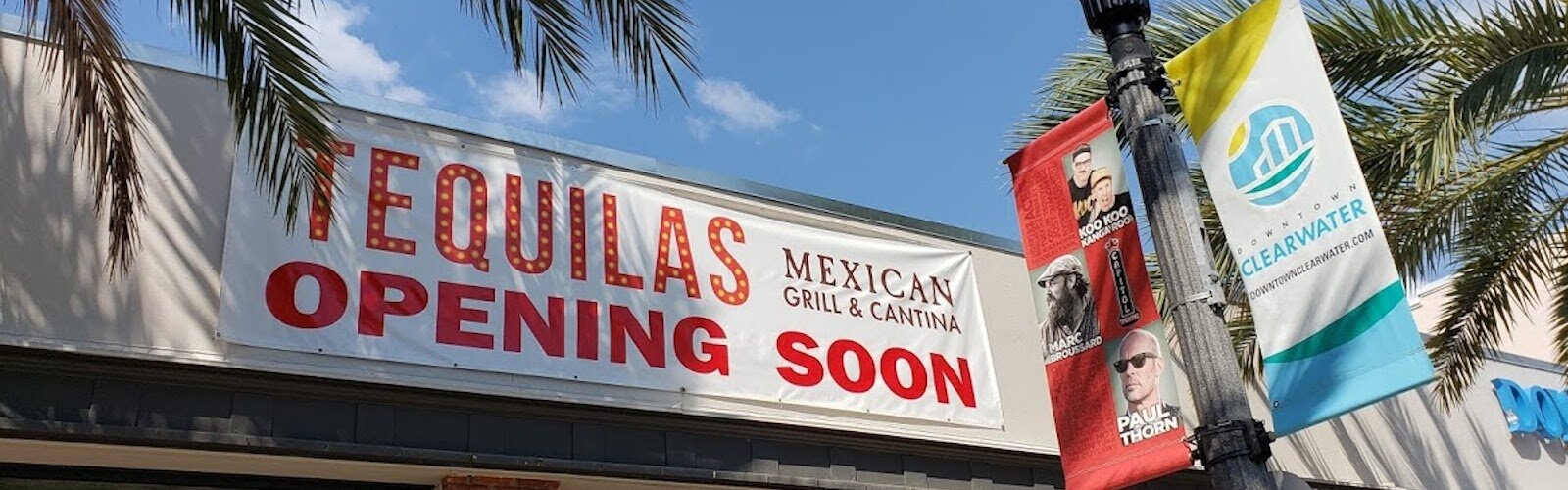 Tequila's Mexican Grill and Cantina is now open in downtown Clearwater.