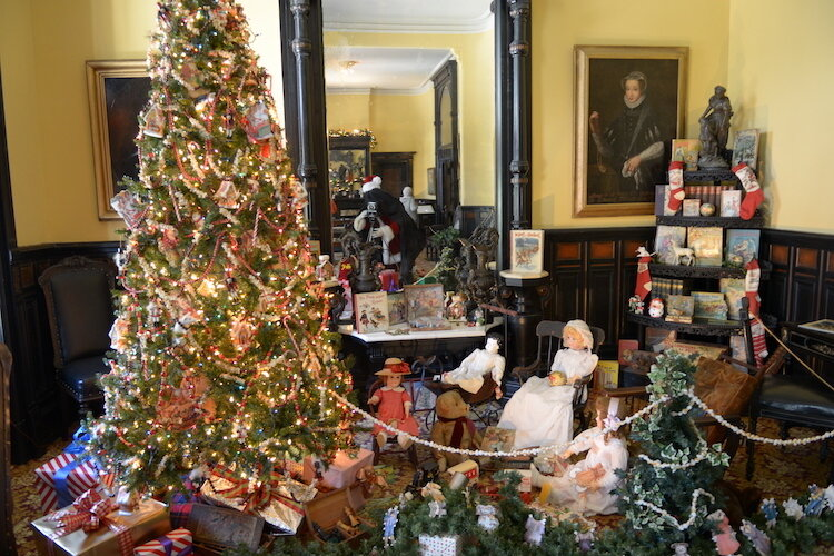 The Victorian Christmas Stroll at the Henry Plant Museum at UT runs through December 23rd.