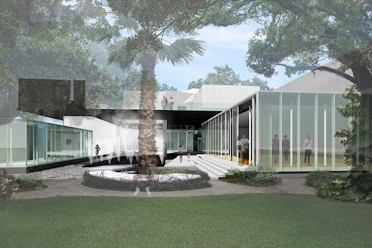 The proposed entrance to the new Woodson Museum in St. Pete.