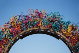 Bike Arch by Tylur French at Overton Park