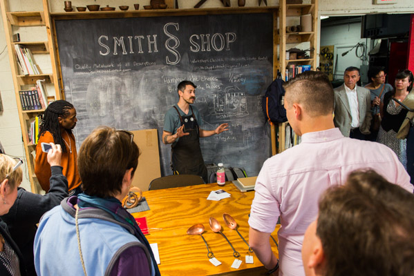 Smith Shop in Ponyride
