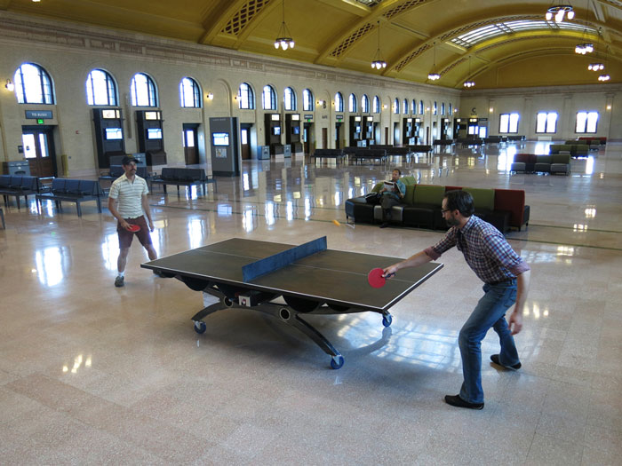 Pop Up Ping Pong Park, Arts on Chicago