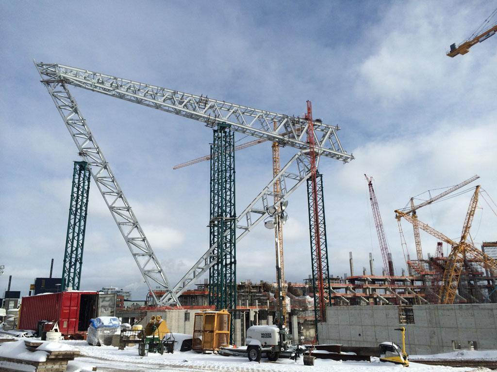 Vikings Stadium rises in Downtown East