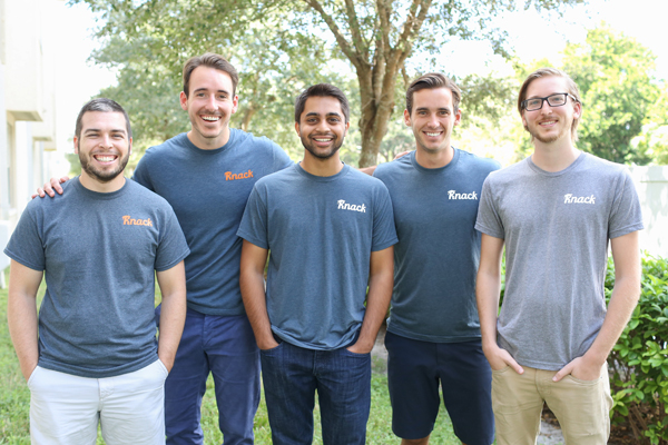 From left, David Stoker, Shawn Doyle, Samyr Qureshi, Austin Doyle, and Dennis Hansen.