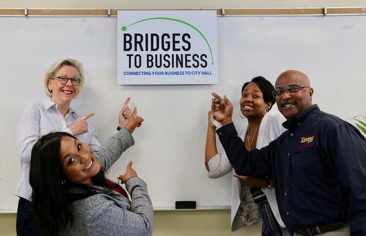 Bridges to Business is a new initiative designed to connect local business owners with city staff.