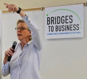 Mayor Jane Castor launches Bridges to Business.