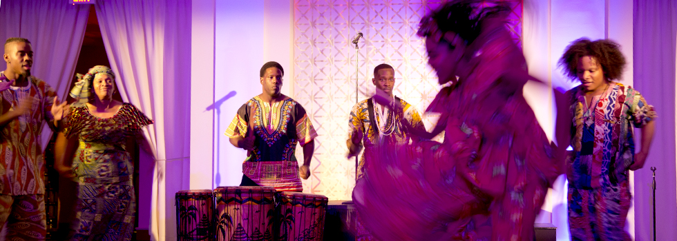 Kuumba Dancers & Drummers perform at 83 Degrees' birthday party.