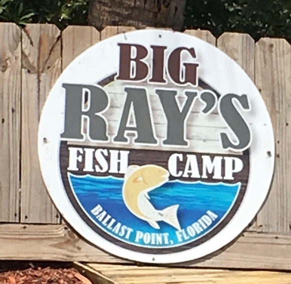 Big Ray's Fish Camp on Interbay Boulevard in South Tampa