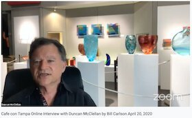 Cafe con Tampa Online Interview with Duncan McClellan by Bill Carlson April 20, 2020
