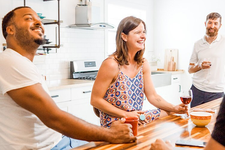 Docked Living focuses on connection, comfort, convenience, and community.