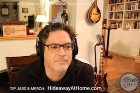 The Hideaway At Home livestreaming.