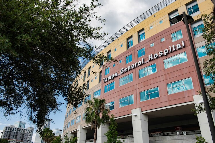 Tampa General Hospital is home to the region's top trauma center and burn unit.