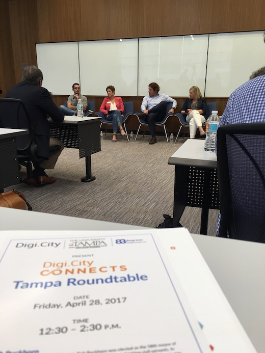 Digi.City panel discussion at UT