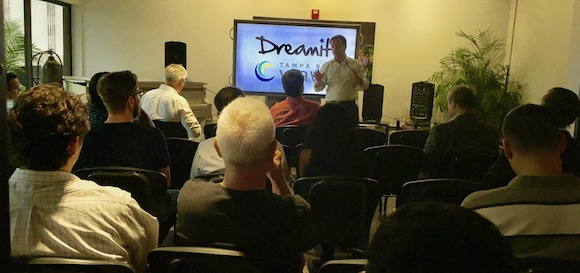 Tampa Bay Area techies meet Dreamit's Andrew Ackerman
